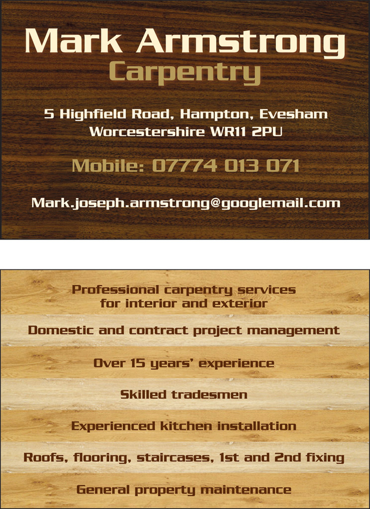 Business Cards | Appointment Cards